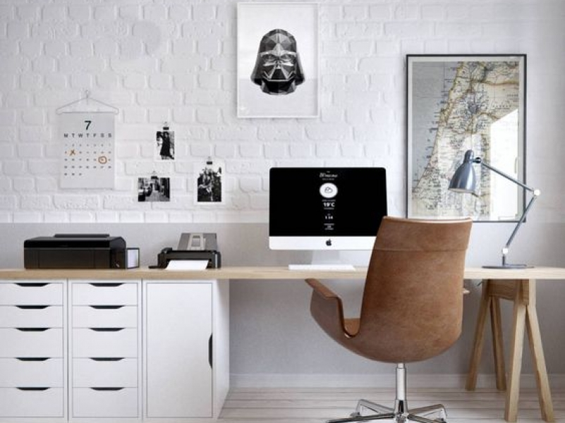 6 Inspirasi Desain Meja Komputer ini Bisa Anda Tiru!