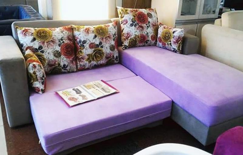 Sofa Bed Purple