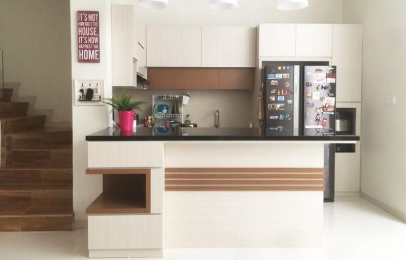 Kitchen Set Minimalis Summarecon Serpong